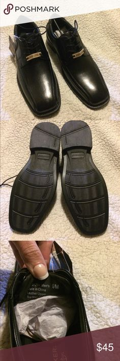 Genuine Leather Dockers Dress Shoes Brand spankin new!! Beautiful shoes!! Dockers Shoes