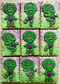 Baby Bop Cookies