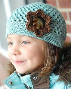 Perfect for my sunshine. crochet hat