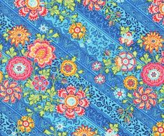 Lark Heirloom Blue Amy Butler Westminster Cotton Fabric