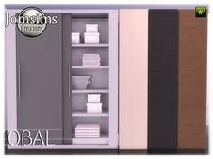 obal bathroom dresser Found in TSR Category 'Sims 4 Dressers'