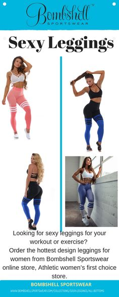 5bb789c30f65f 52 Best Sexy Leggings | Gym Bottoms images | Sock leggings, Workout ...