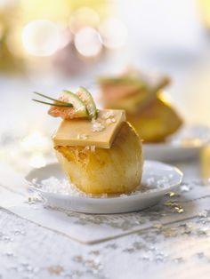 Découvrez une délicieuse recette de Saint Jacques poêlées accompagnées de foie gras, une recette parfaite pour Noël