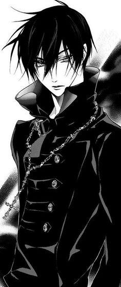 potreste aiutarmi a capire se questo personaggio fa realmente parte di qualche manga? se è si scrivetemi quale..è cosi  bello *-*