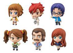 Gundam Build Fighters Try: Petit Chara! Trading Figures (Display of 6) - HobbyStuf