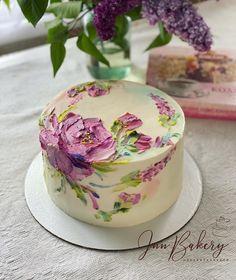 Cake Decorating Frosting, Cake Decorating Designs, Cake Decorating Techniques, Cake Designs, Pretty Birthday Cakes, Pretty Cakes, Beautiful Cakes, Amazing Cakes, Bolo Diy