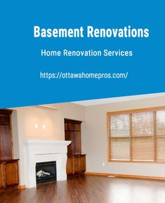 Basement Renovations  Over the years, Ottawa Home Pros has satisfied all our clients from Ottawa and the surrounding region, through the use of proven and effective remodeling and finishing services. All our ideas and solutions will be suitable for any basement project. It doesn't matter if it is in moisture control, the installation of ceiling, trimmings, floorings, and the installation of air systems. We will ensure that everything is available to create the most attracti