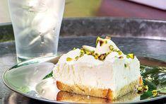 Greek Desserts, Icebox Cake, Sorbet, Parfait, Vanilla Cake, Cheesecake, Ice Cream, Frozen Pies, Food