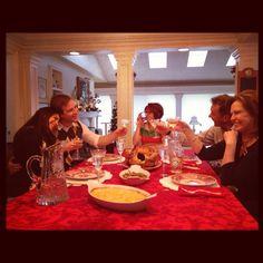 #ASingleGirlsChristmas #Family #Christmas #DinnerTime #EnoughSaid