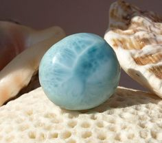 Dominican Larimar Caribbean Marbled Blue Quality by MyBeachStore