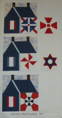 Five years ago, at the Kingston, Ontario quilt show, this school-house quilt captivated my attention. It was a raffle quilt but I didn't ...