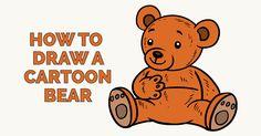 How to Draw a Cartoon Bear in a Few Easy Steps