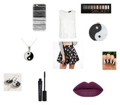 """""""Untitled #73"""" by claireblockk ❤ liked on Polyvore featuring Hannah Makes Things, Edie Parker, Carolina Glamour Collection, Casetify, Smashbox, Forever 21, women's clothing, women, female and woman"""