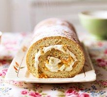Passion Fruit Swiss Roll