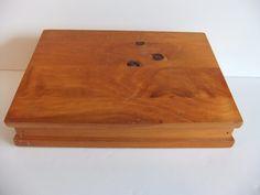 Thank You Jenny, Lap Desk Solid Wood Vintage..