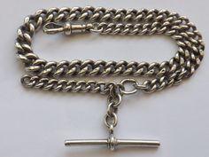 Pocket Watches, Chain, Silver, Ebay, Jewelry, Jewlery, Jewerly, Pocket Watch, Necklaces