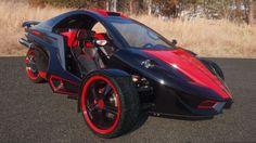 Image result for Tanom Motors Invader Reverse Trike
