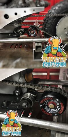 Parts and Accessories 64657: Mini Bike Chain Tensioner Predator Mod Bolt On Powell Peralta Usa Kart -> BUY IT NOW ONLY: $90 on eBay!