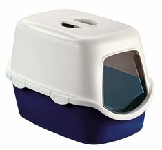 Stefanplast CATHY F Cat Toilet House – Experience and Test – www.katzenklo-kau … Source by carolaweyer No related posts. Litter Box With Lid, Cat Litter Tray, Litter Box Covers, Cat Toilet, Cat Garden, Blue Cats, Cat Supplies, Pet Grooming, Pet Clothes