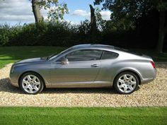 Bentley Continental Silver Tempest