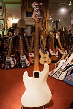 Fender Bass Guitar, Guitars, Vintage Bass, Shops, Instruments, Play, People, Collection, Tents