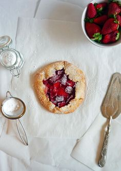 freeform strawberry tarts - Made this recipe, it was so good my 9 year old has asked every day since when I'm making more. Today's will be blackberry and apple!