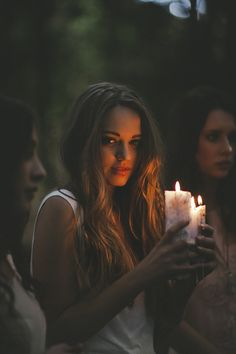 idea for sasha - shoot her with a candle providing some light on her face