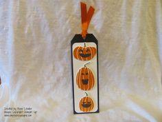 Simply Encouragink: Halloween Bookmarks