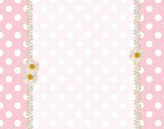 Rosa e Branco com Bolinhas – Kit Completo