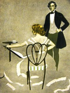 Posterazzi The Gorgeous Isle 1908 Warner was standing beside her Canvas Art - Clarence Coles Phillips x