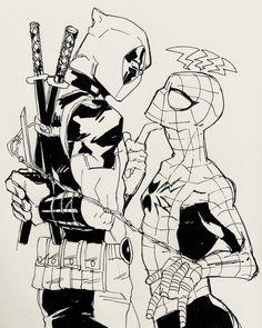 Spideypool, Marvel Memes, Marvel Dc Comics, Marvel Avengers, Iron Man Capitan America, Thor Y Loki, Deadpool X Spiderman, Best Superhero, Stony