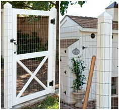 This will be our garden fence.  The chicken coop will be right next to it.