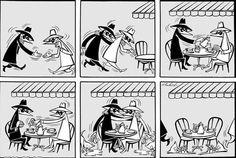 """""""SPY vs. SPY"""" por Antonio Prohías (viaVintage Comics - A Era de Ouro dos Quadrinhos)"""