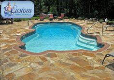 "Key West : 16'x37' Awesome Pools is located in Apison, Tennessee and builds beautiful fiberglass swimming pools, spas and tanning ledges from Custom Fiberglass Pools. We service South Eastern Tennessee and North Western Georgia.  For more information on how you can have your own ""Awesome"" backyard, give us a call at (423) 615-9554, email us at info@awesomepoolsspas.com or visit www.awesomepoolsspas.com"