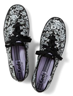 b250dca636a5b6 See how others are styling the keds shoes champion floral women inchess  floral black.