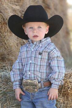 Cinch Boys Grey & Turquoise Plaid Long Sleeve Button Down Shirt Cowgirl Tuff, Cowboy Hats, Cruel Girl, Western Outfits, Toddler Boys, Kids, Little Ones, Westerns, Button Down Shirt