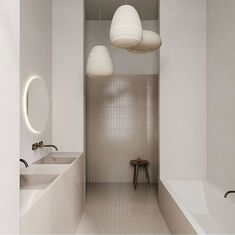 A beautiful minimal design with the most calming and serene palette. Milan Apartment by & Via Classic Home Decor, French Home Decor, Classic House, Home Design, Design Blog, Design Ideas, Cheap Office Decor, Cheap Home Decor, Bad Inspiration