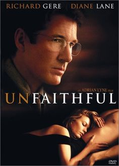 Combustible Celluloid film review - Unfaithful (2002), Adrian Lyne, Diane Lane, Richard Gere, dvd review