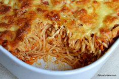 Caesar Pasta Salads, Caesar Salad, I Want To Eat, Mozzarella, Lasagna, Spaghetti, Menu, Favorite Recipes, Lunch