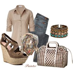 ~Coffee Summer Haze~, created by mels777 on Polyvore