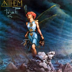 Toyah Willcox 'Anthem' 1981 - Loved this album. Had it on tape in a purple case.