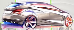 Car design sketch rendering by Andrea di Buduo Car Design Sketch, Car Sketch, Design Art, Scooter Design, Industrial Design Sketch, Motorcycle Design, Car Drawings, Cool Sketches, Transportation Design