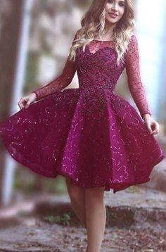 Homecoming Dress, Short Homecoming Dress, Beading Homecoming #Short Homecoming Dress#HomecomingDresses#Short PromDresses#Short CocktailDresses#HomecomingDresses