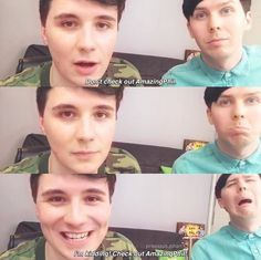 This was so pure also Phil's face in the last pic