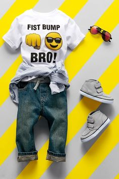 """Fist bump, bro!"" 