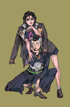 Josuke & Okayasu Genderbend
