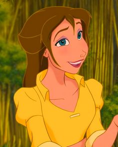 """""""*JANE PORTER ~ Tarzan, 1999"""" Day 2- Favorite Princess. It was a hard choice between Alice and Jane but Jane won. I thought that she was funny in the movie and I liked that she was smart as well."""