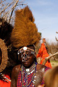 Maasai Warrior . Kenya
