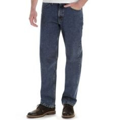 Lee Relaxed Fit Tapered Leg Jeans - Men
