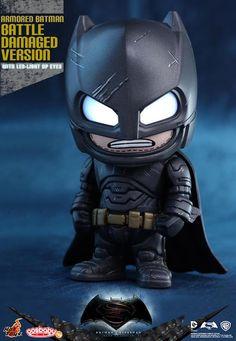 Hot Toys Debuts Adorable New Batman v Superman Cosbabies